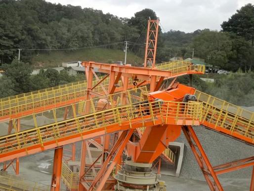 Indústria de mineração no Paraná cresceu 25,8% no 1.º trimestre
