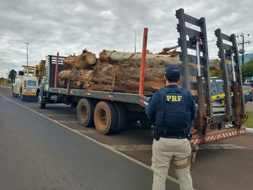 Mais de 300 toneladas de excesso de peso foram retiradas de circulação nas rodovias do PR