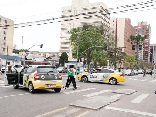 PM garante tranquilidade durante atos públicos no Paraná