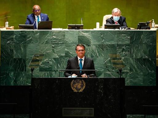 Na ONU, o mesmo Bolsonaro de sempre