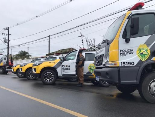 Litoral rebebe seis veículos para operações da PM no Litoral
