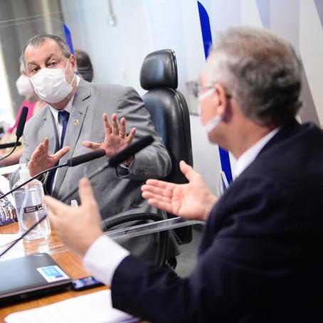Crise em torno de relatório marca reta final da CPI da Covid
