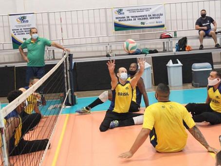 Curitibanos se aquecem para os Jogos Paralímpicos de Tóquio
