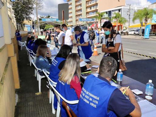 Mais de 11 mil trabalhadores portuários já foram vacinados no Paraná