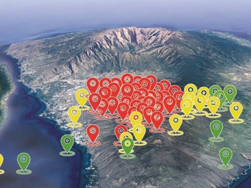Vulcão capaz de gerar tsunami no Atlântico entra em alerta amarelo