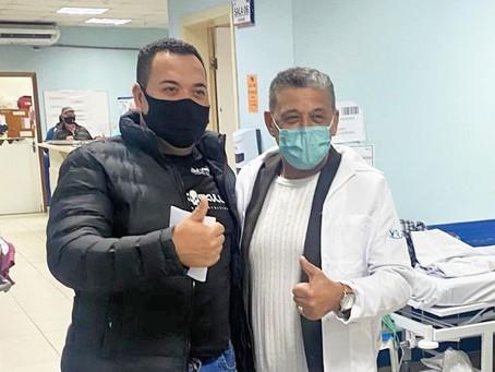 Hospital Regional do Litoral recebe a visita do Deputado Estadual Paulo Roberto da Costa, o Galo