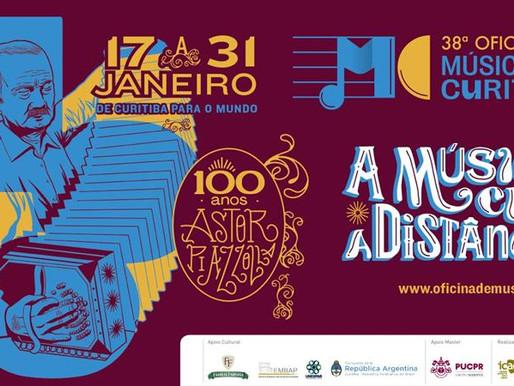 Prorrogadas as inscrições para a 38.ª Oficina de Música de Curitiba