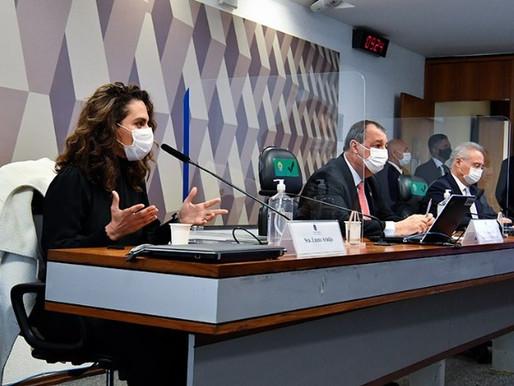 CPI da Pandemia: O depoimento da infectologista Luana Araújo