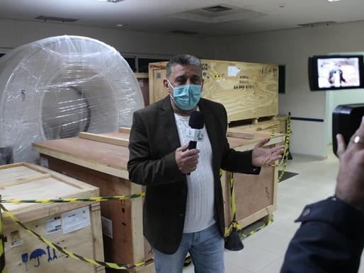 Parlamentar cobra instalação de tomógrafo em hospital do Litoral