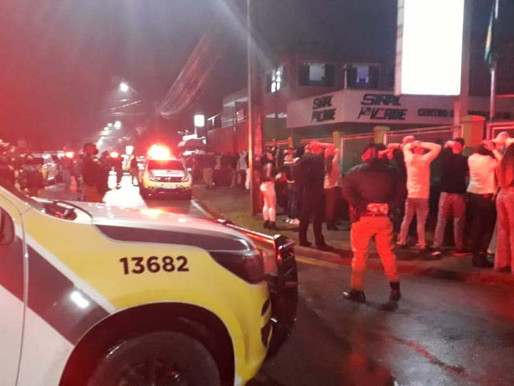 Polícia encontra mais de 800 pessoas em aglomerações e fecha pontos comerciais em Curitiba