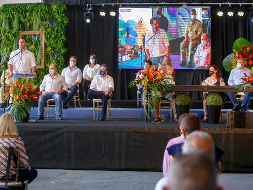 Governador entrega obras no aniversário de 250 anos de Guaratuba