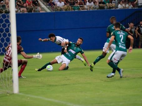 Coritiba perde para o Manaus e é eliminado da Copa do Brasil