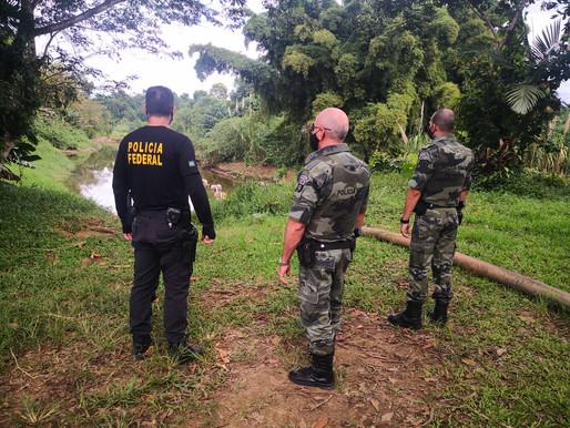PF deflagra operação de combate a crimes ambientais no Litoral do Paraná