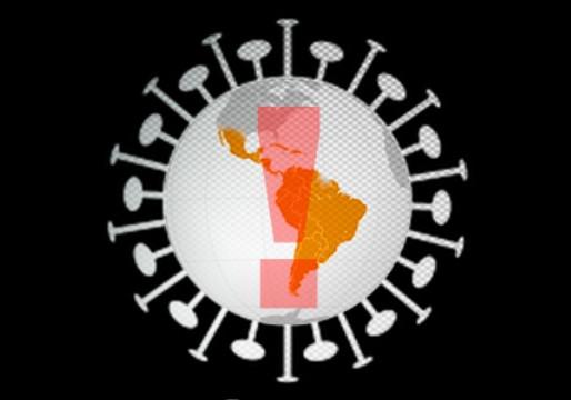 América Latina ultrapassa 1.000.000 de mortes por Covid