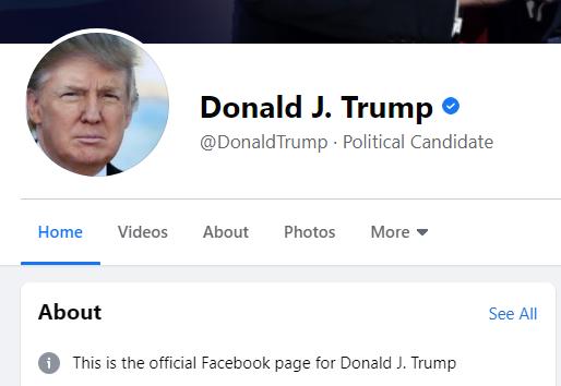 Facebook suspende Trump por dois anos