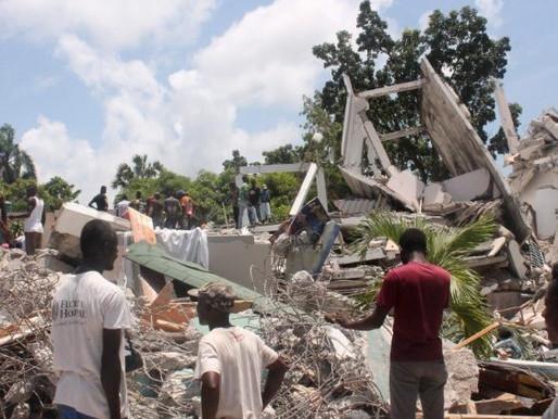 Haiti busca sobreviventes após terremoto
