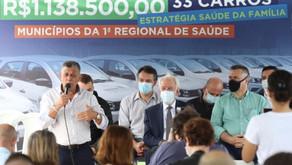 Municípios do Litoral recebem novos veículos para ampliar o atendimento à saúde