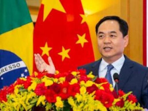 Embaixador da China satiriza post do Ministério da Saúde