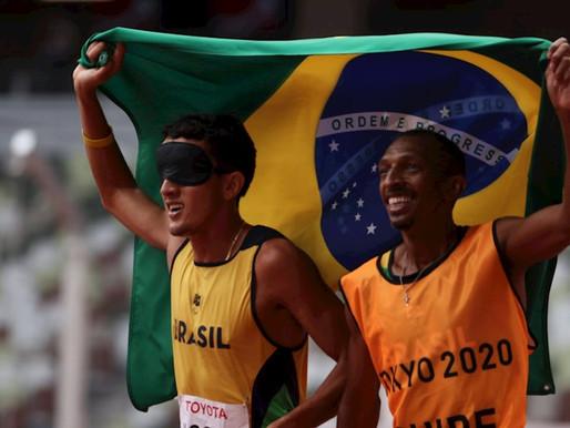 Yeltsin Jacques conquista 100.º ouro do Brasil em Jogos Paralímpicos