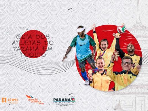 Estado divulga o calendário dos atletas do Paraná nas Paralimpíadas de Tóquio