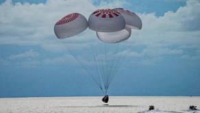 SpaceX conclui missão após três dias no espaço