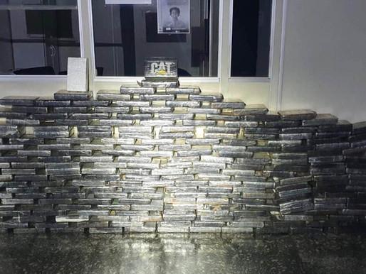 PM apreende mais de 270 quilos de pasta base de cocaína avaliados em R$ 7 milhões