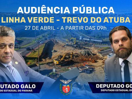 AUDIÊNCIA PÚBLICA VAI DEBATER SITUAÇÃO DO TREVO DO ATUBA