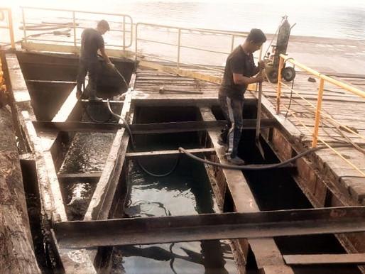Reforma da rampa do ferry boat deve ser concluída antes do feriado