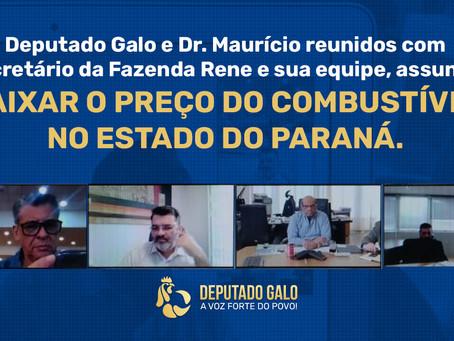 DEPUTADO GALO REÚNE-SE COM SECRETÁRIO DA FAZENDA