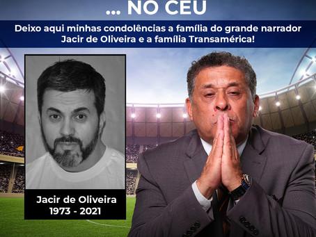 DEPUTADO GALO HOMENAGEIA O  NARRADOR JACIR DE OLIVEIRA