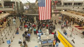 EUA permitirão entrada de viajantes do Brasil e de outros países