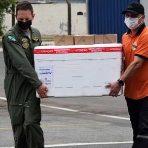 Saúde distribui 583,6 mil vacinas contra a Covid-19 nesta quarta-feira