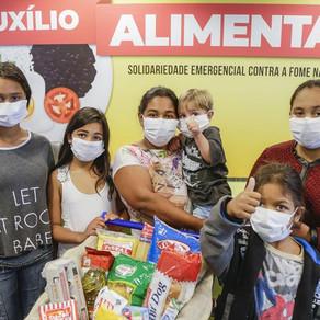 Prefeitura lança auxílio alimentar para 35 mil famílias vulneráveis