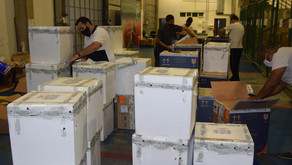 Mais de 348 mil vacinas contra a Covid-19 chegaram neste domingo ao Paraná