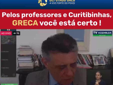 Deputado Galo elogia Prefeito Rafael Greca