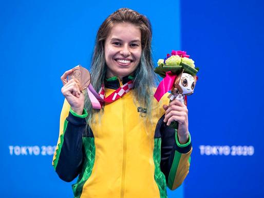 Atletas do Paraná batem recorde de medalhas na Paralimpíada de Tóquio