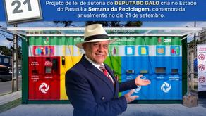 Pela 1.ª vez, Paraná comemora a Semana da Reciclagem