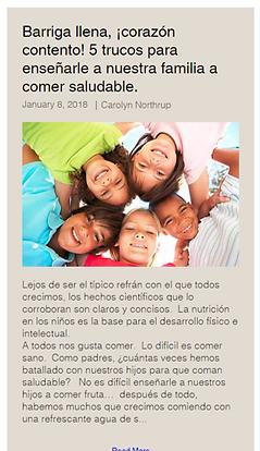 Content Developmen in Spanish