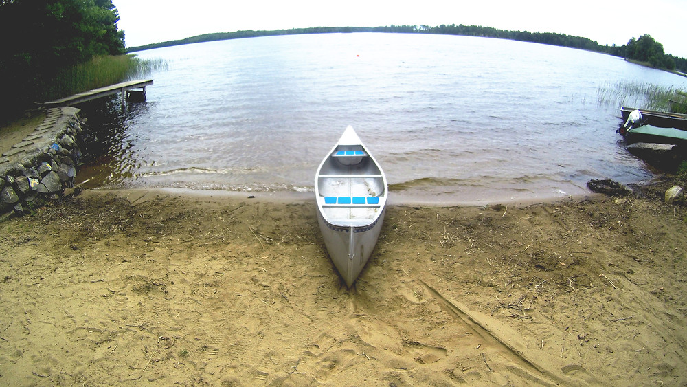 kanu, see, sand, strand