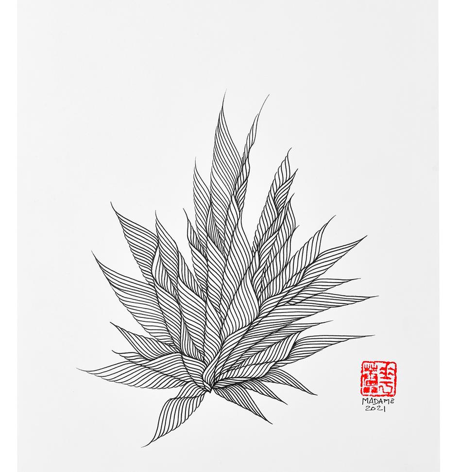 MADAME-MEDITATION-L-039-INK-ON-PAPER-29.7x42-2021.jpg