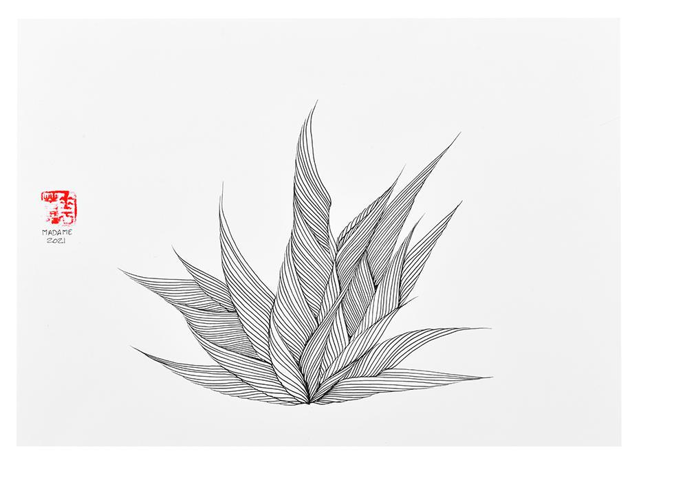 MADAME-MEDITATION-L-030-INK-ON-PAPER-29.7x42-2021.jpg