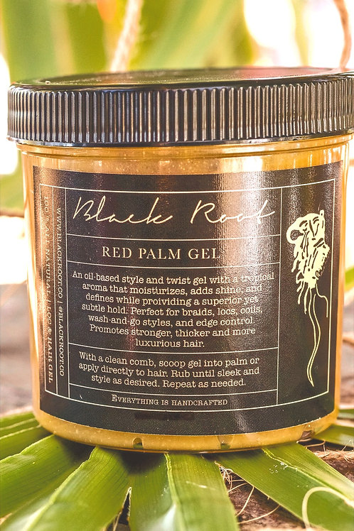 A TROPICAL HAIR TREATMENT... RED PALM LOC & HAIR GEL