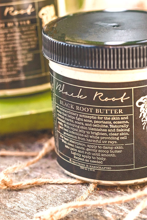 YOUR BODY DESERVES IRRESISTIBLE ROYALTY... BLACK ROOT BUTTER CREAM