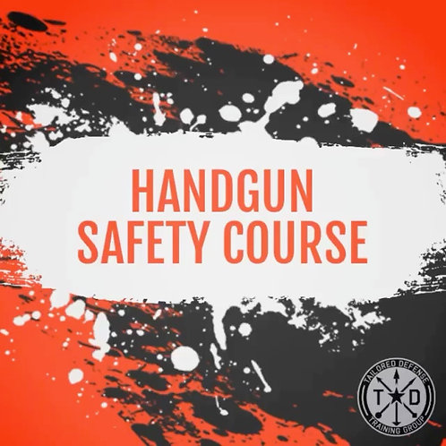 Maryland Handgun Safety Course