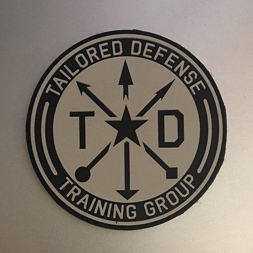 The Tailored Defense Training Group PVC Patch
