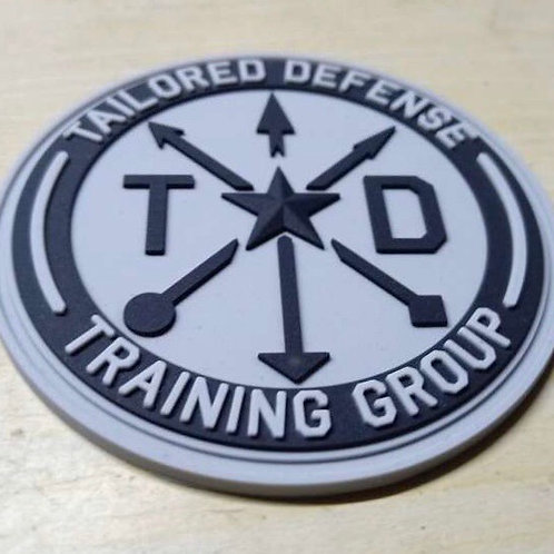 Tailored Defense Training Group PVC Patch