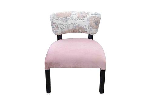 Matera rosa con flores