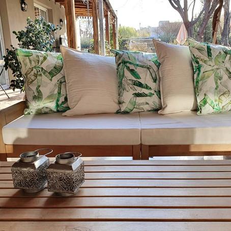 Prepará tus espacios para la vida al aire libre