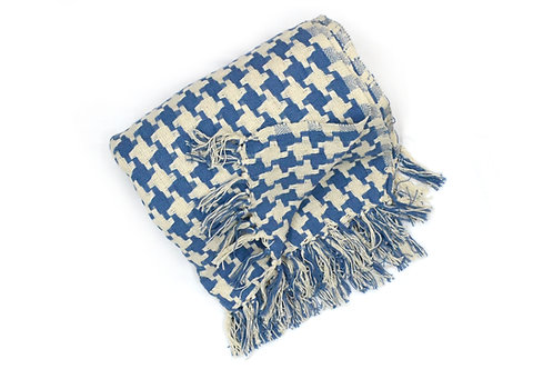 Manta rústica tejida | Azteca