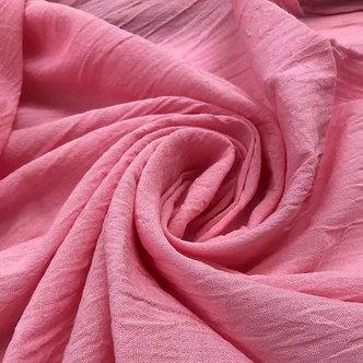 Gasa Doble Ancho Rosa Dior